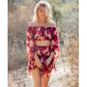 ✨For Love and Lemons✨Wild Rose Top